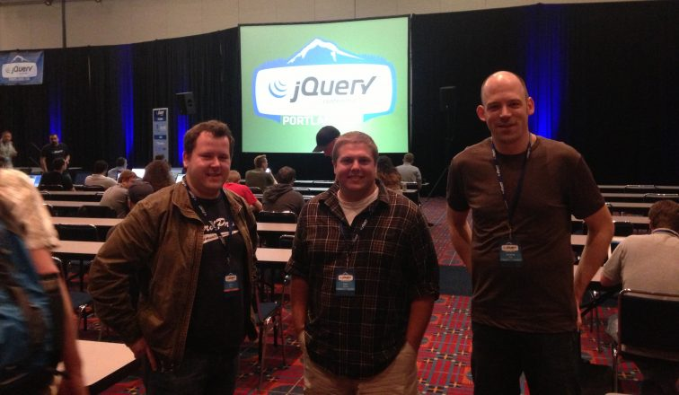 Team 10up at jQuery Con Portland