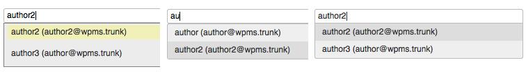 WordPress autocomplete evolution