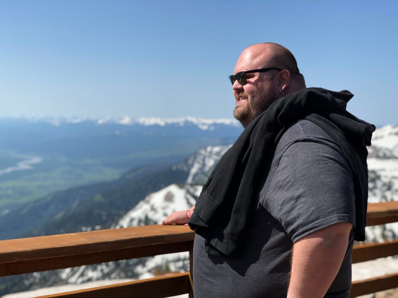 Brad Miller looks at the mountains