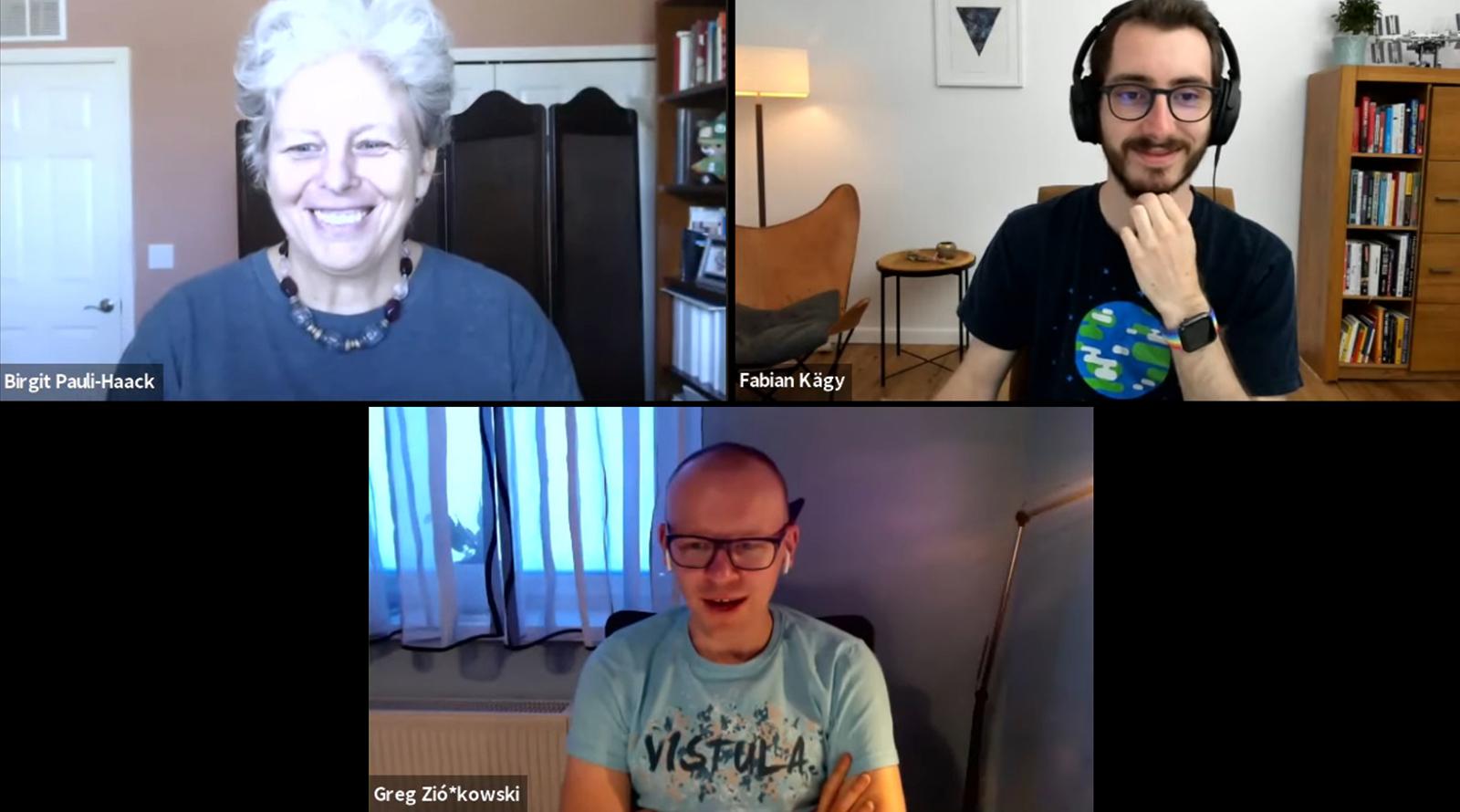 Fabian Kaegy on Gutenberg Times Live Live