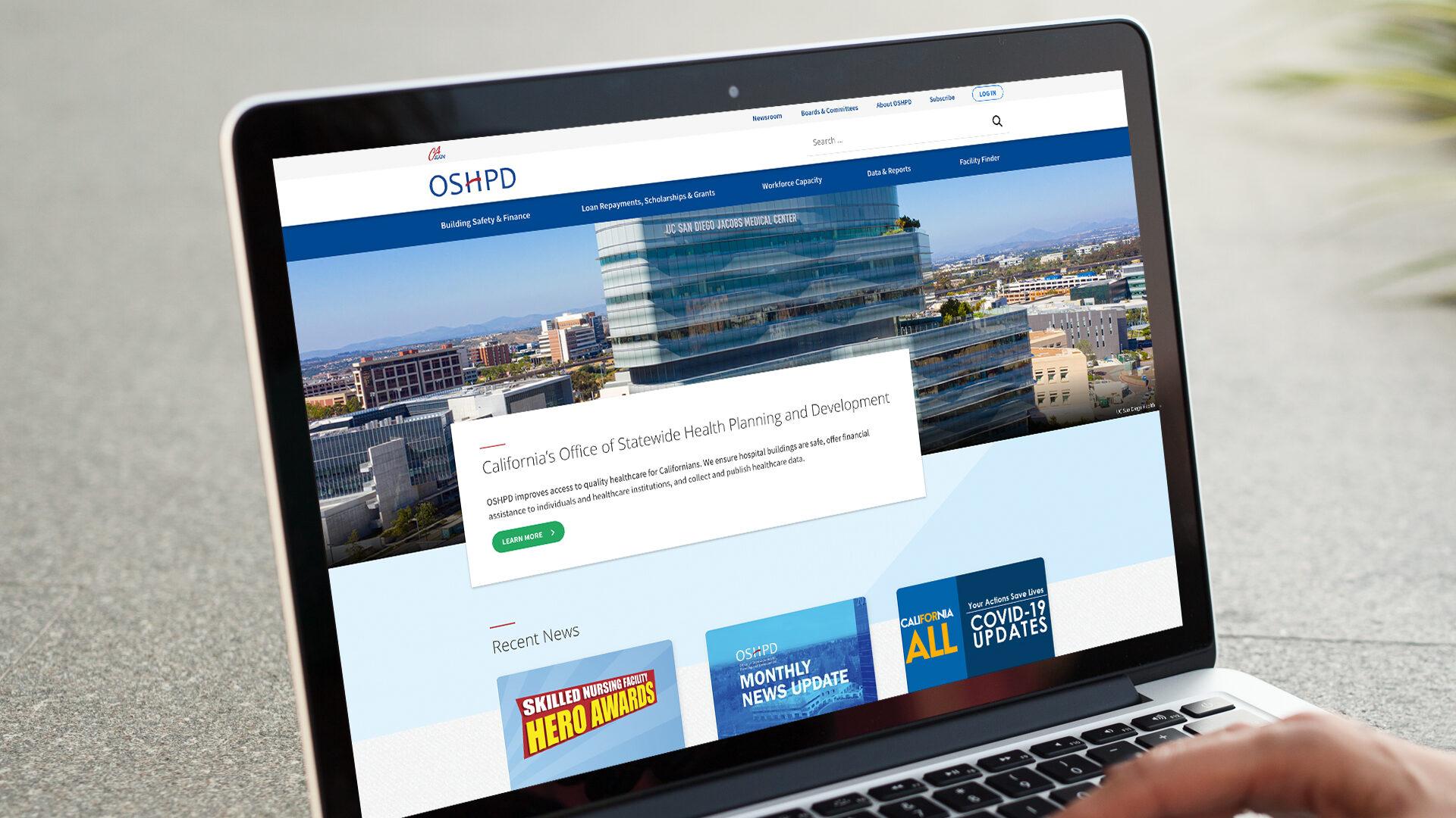CA OSHPD Website