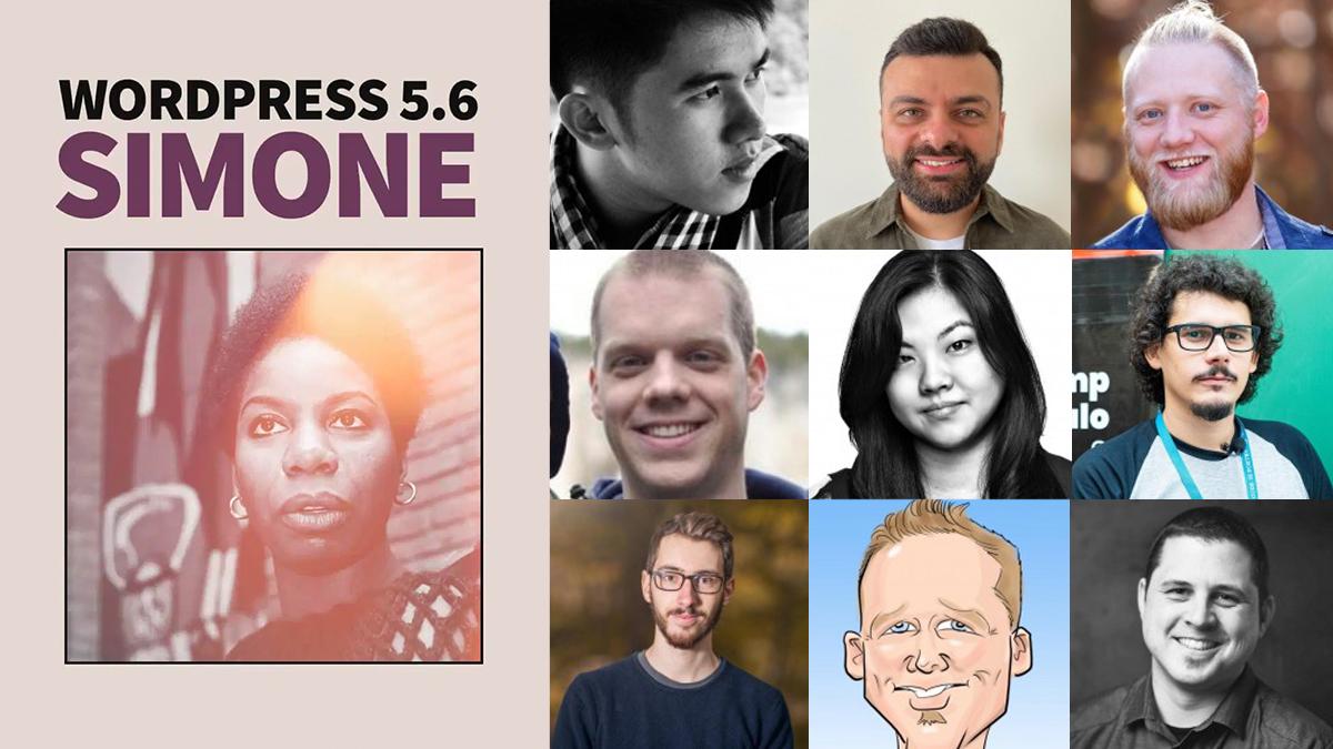 10up Contributors For WordPress 5.6 Simone