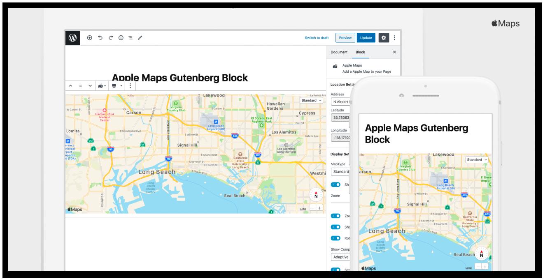 Block for Apple Maps