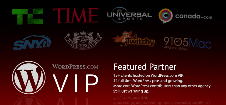 WordPress.com VIP Featured Partner